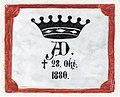 Althofen Pfarrkirche hl. Thomas von Canterbury Inschrift 24062015 5253.jpg