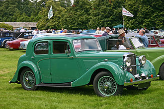 Alvis 12/70 - Type II 12/70 sports saloon