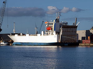 Amber IMO 8917871 at Amsterdam, The Netherlands.JPG
