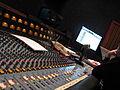 Amek 2500, 32 x 24 x 2 discrete console - left angle 2, Studio A, Downtown Recording.jpg
