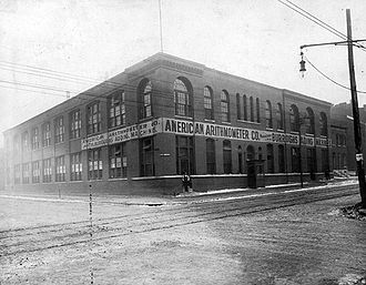 American Arithmometer Company - Main Factory at 2100 Wash, St Louis prior to 1905