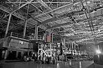 American flag hangs in SpaceX headquarters in Hawthorne.jpg