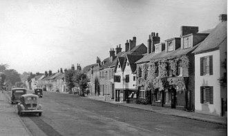 Amersham - High Street, Old Amersham (1955)