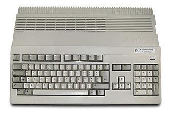 Amiga 500 Plus - Image: Amiga 500 Plus (white background)