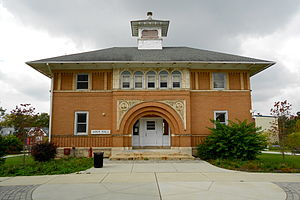 Lincoln University (Pennsylvania) - Amos Hall