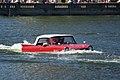 Amphicar 770 1965 0479 Afternoon swim Lake Mirror Cassic 16Oct2010 (14897220743).jpg