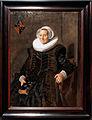 Amsterdam - Rijksmuseum 1885 - Gallery of Honour (1st Floor) - Portrait of Maritge Claesdr. Vooght 1639 by Frans Hals.jpg