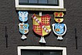 Amsterdam - Singel 421 - coats of arms.JPG