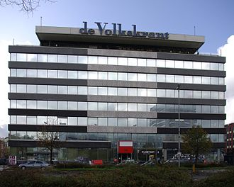 De Volkskrant - Former headquarters in Amsterdam
