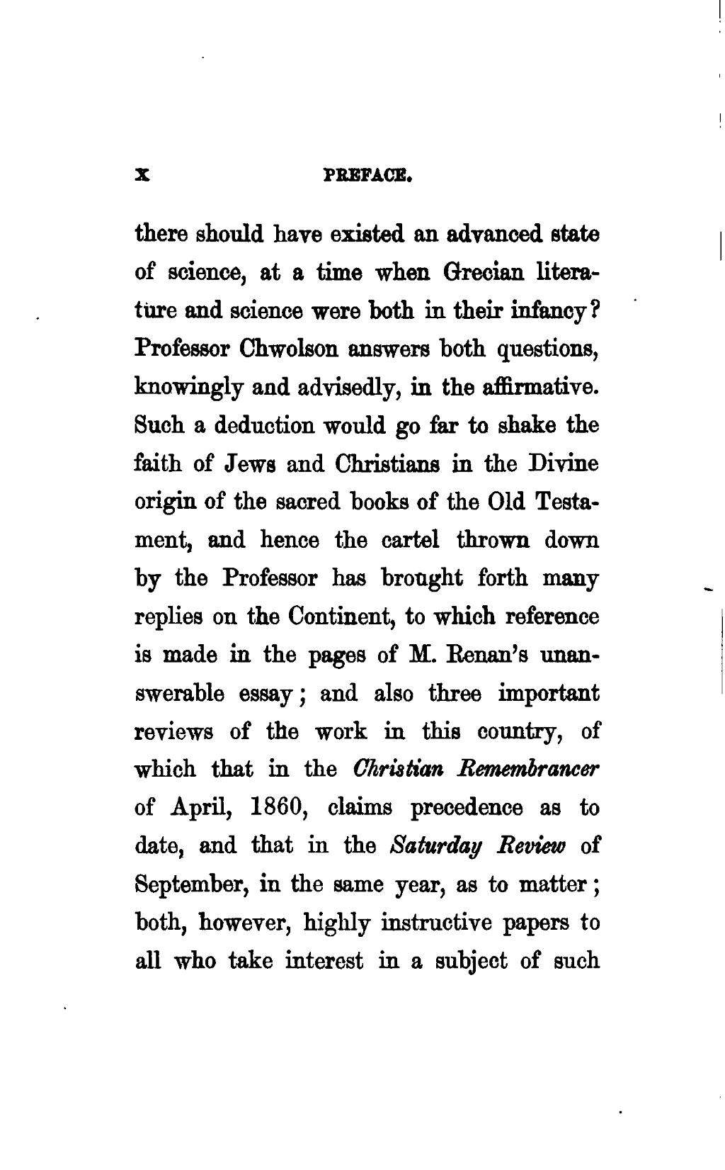 Essays by christian professors
