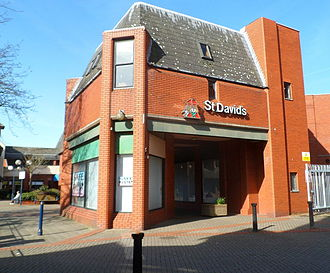St. David's Shopping Centre (Swansea) - Entrance to St David's Shopping Centre