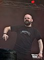 "Anaal Nathrakh, Dave ""V.I.T.R.I.O.L."" Hunt at Party.San Metal Open Air 2013 03.jpg"