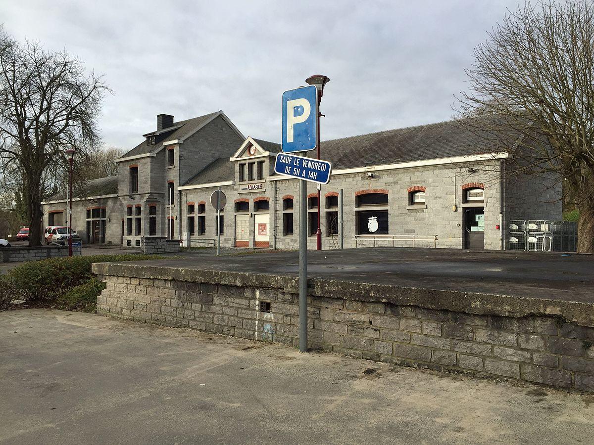 Gare de thy le ch teau wikip dia - Bureau de poste belgique ...
