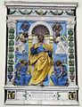 Andrea della robbia (bottega), altare, 1510-20, 01.JPG