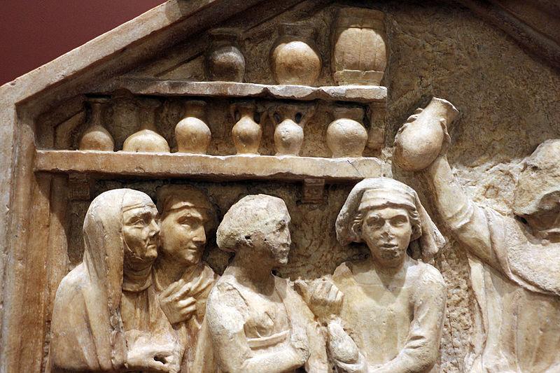 File:Andrea e nino pisano, medicina, 1343-48, dal lato sud del campanile 02.JPG