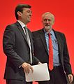 Andy Burnham and Jeremy Corbyn, 2016 Labour Party Conference.jpg