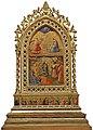 Angelico, reliquiario con annunciazione e adorazione dei magi.jpg