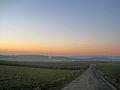Anhöhe bei Cleeberg - Blick Richtung Westen - mit Zugvögeln.jpg