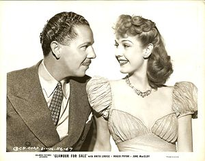 Anita Louise - Louise with Roger Pryor in Glamour for Sale (1940)