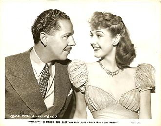 Roger Pryor (actor) - Still with Roger Pryor and Anita Louise in Glamour for Sale (1940)