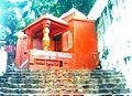 Anjaneya temple on walkway to Simhachalam.jpg