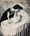 Ann Blyth with her first baby Timothy Patrick, 1954.jpg
