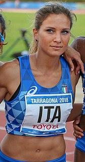 Anna Bongiorni Italian sprinter