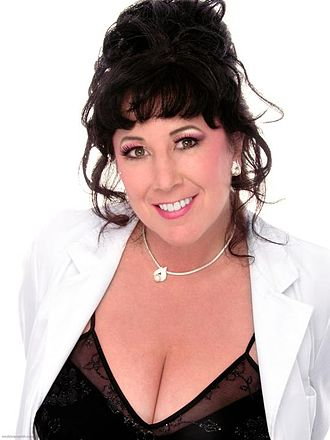 Annie Sprinkle in 2005 Annie sprinkle spectacular sex book cover.jpg