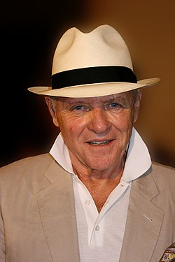 Anthony Hopkins vuonna 2009.