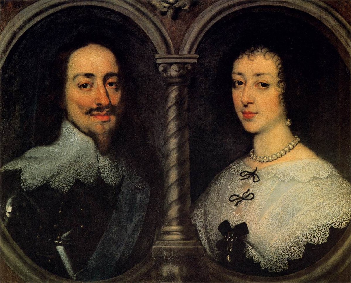 Anthony van Dyck - Charles I of England and Henrietta of France - WGA07409.jpg