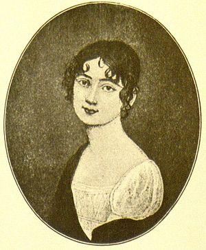 Antonie Adamberger - Antonie Adamberger. Engraving after a miniature by Johann Maria Monsomo