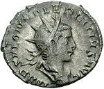 Antoninian Saloninus Augustus (anverso) .jpg