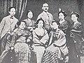Antonio Fontanesi and female students.jpg