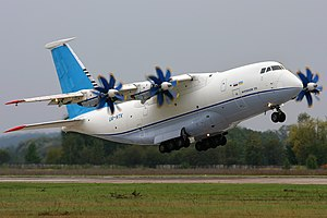 Antonov An-70 - The second An-70 during take-off