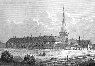Antvorskov - Antvorskov monastery, 1749