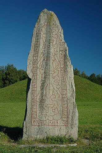 Anundshög - Image: Anundshög, Västerås 1000
