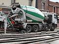 Anzin & Valenciennes - Travaux de raccordement des lignes A & B du tramway de Valenciennes à la Croix d'Anzin le 9 août 2013 (30).JPG