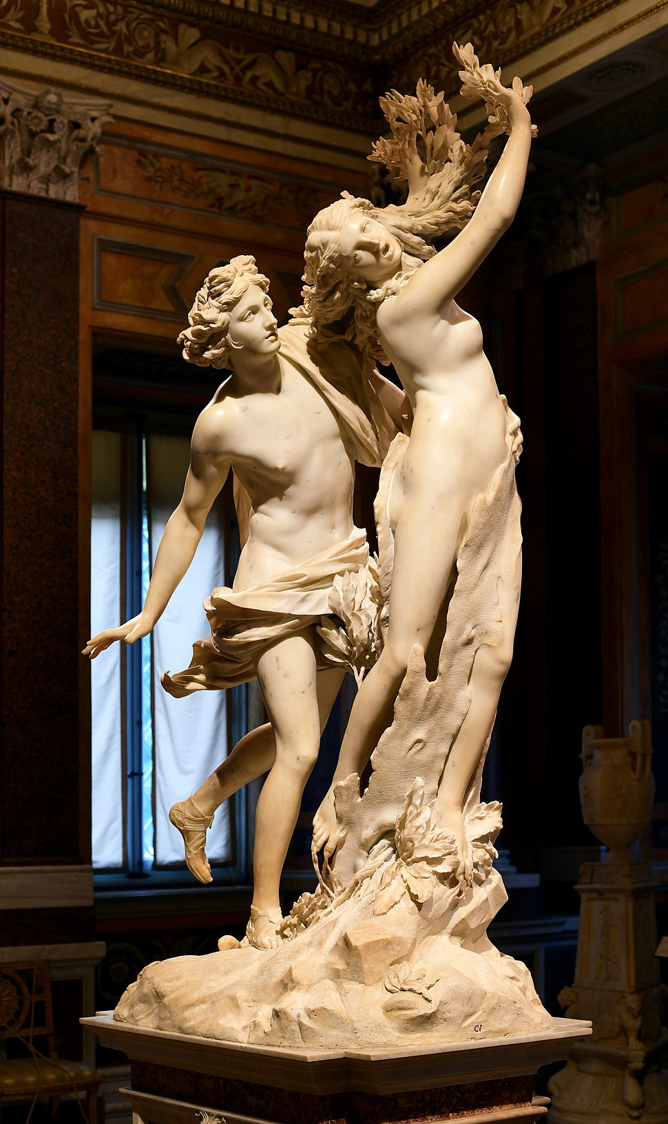 Apollo and Daphne (Bernini) (cropped)