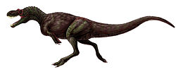 Illustration av Appalachiosaurus.