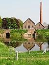 appeltern overzichtsfoto gemaal de tuut, machinehuis, ketelhuis, sluizen