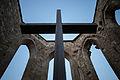 Apsis cross Aegidienkirche memorial Breite Strasse Mitte Hannover Germany 02.jpg