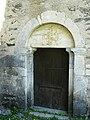 Aragnouet chapelle templière porte.JPG
