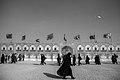 Arba'een In Mehran City 2016 - Iran (Black And White Photography-Mostafa Meraji) اربعین در مهران- ایران- عکس های سیاه و سفید 12.jpg