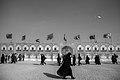Arba'een In Mehran City 2016 - Iran (Black And White Photography-Mostafa Meraji) اربعین در مهران- ایران- عکس های سیاه و سفید 12.jpg