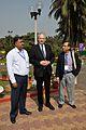 Arijit Dutta Choudhury - Hans-Martin Hinz - Emdadul Islam - Science City - Kolkata 2014-02-13 2213.JPG