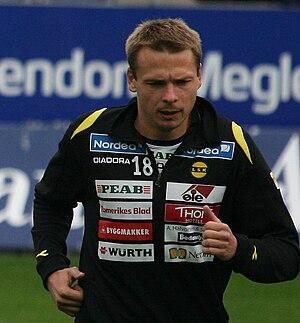 Arild Sundgot - Arild Sundgot at Viking Stadion in 2008.