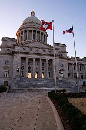 Arkansas State Capitol - Image: Arkansas State Capitol Building