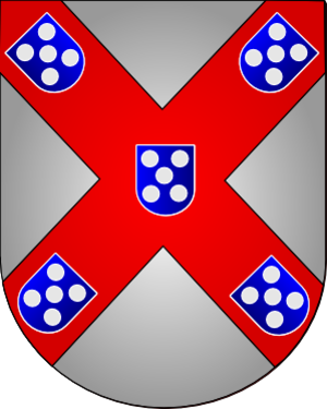 Count of Barcelos - The Coat of Arms of Afonso, 8th Count of Barcelos in 1401, when he inherited it from his father-in-law, Nuno Álvares Pereira.