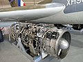 Armstrong Siddeley Sapphire Sa.7 Jet Engine at the Jet Age Museum.jpg