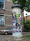 arnhem - reclamezuil oranjestraat - 4